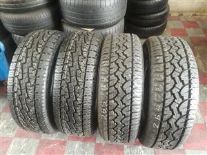 265/65/17 GT Radial Adventure tyres