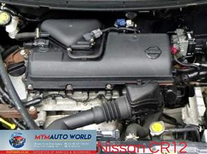Imported used  NISSAN MICRA 1.2L 16V, CR12 engine Complete