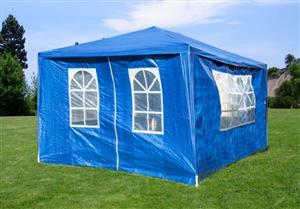 Gazebo Folding Tent Marquee w/ Side Walls for Functions, Weddings, Events, Picnics 3 x 4m