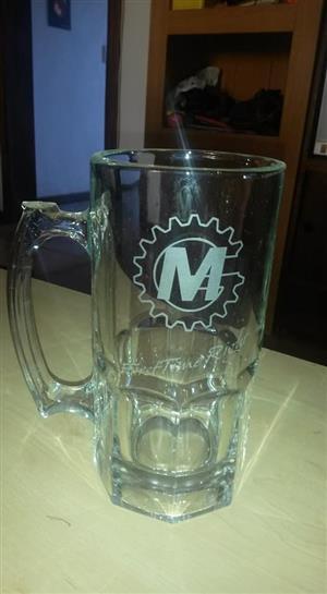 Groot bier glas