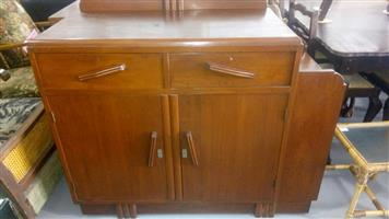 2 Door and drawer side cabinet for sale