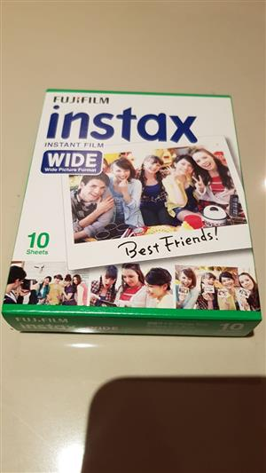 Fuji Film Instax Instant Films(Wide) For sale