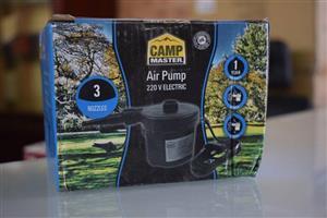 Camp master air pump