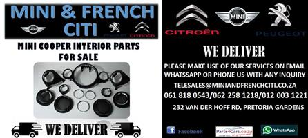 MINI COOPER INTERIOR PARTS FOR SALE