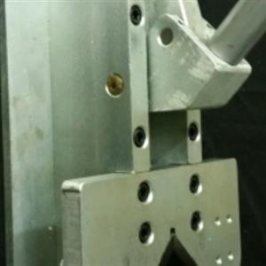 Aluminium crimping machine