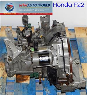 Imported used HONDA F22 MANUAL gearbox