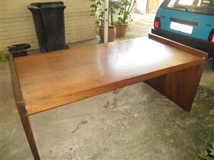 Large wooden desk for sale