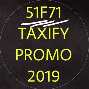 51F71 TAXIFY PROMO FREE RIDE 2019