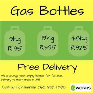 Gas deliveries
