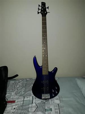 Ibanez 5 string bass guitar for sale