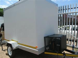 2m x 1.2m x 1.8m MOBILE Cold Room WINTER SALE