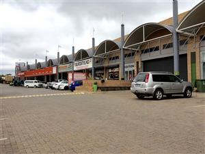 Prime Industrial Retail Space Motor City  Randburg To let @ R100sqm