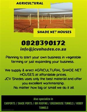 AGRI NET HOUSES AND IRRIGATION