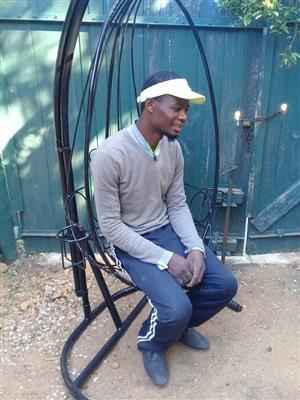 Swinging Pod chair