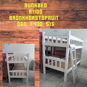 Wit bunkbed te koop