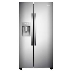 HISENSE - 700ltr Side By Side Freezer Fridge Water & Ice Box