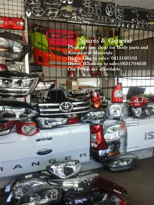 SPARES FOR ALL NEW & USED BODY PANELS CONTACT US