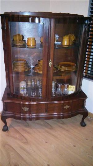 Phenomenal Ball And Claw Display Cabinet In All Ads In South Africa Complete Home Design Collection Papxelindsey Bellcom