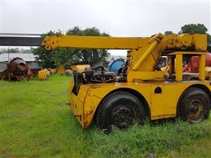 4 ton Iron Fairy mobile yard crane