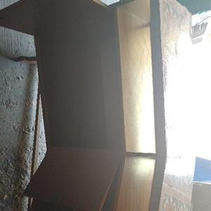 Bar counter with 3 bar stools
