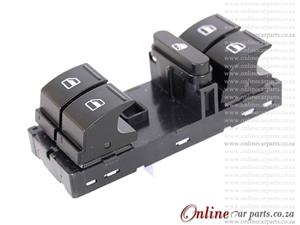 VW Golf Right Hand Side Front Window Door Switch 10Pin