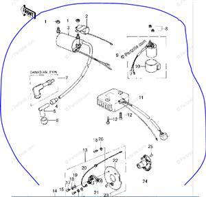 Wanted Kawasaki Z200 parts