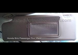 Honda Brio Sun Visor Passenger Side  2012  to 2015