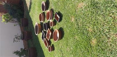 11 bonsai pots to swop for a BSF 54s air rifle
