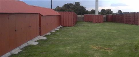 Self Storage Kempton Park (Glen Marais) R26 per day