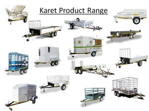 Karet trailers Customised and Standard