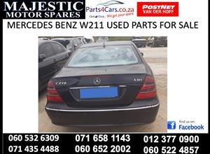 Mercedes benz W211 used spares for sale