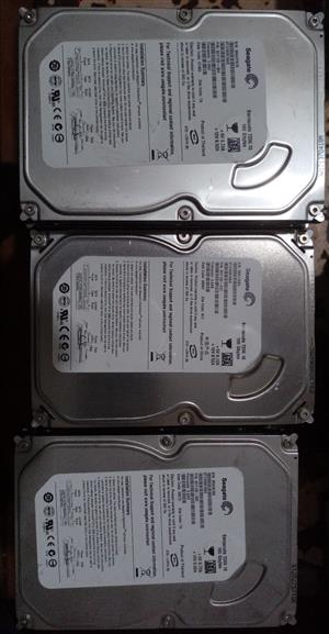 3.5'' Desktop Hard Drives 160Gb to 500GB for sale