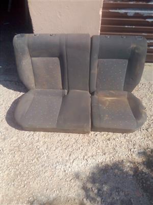 Vw. Polo rear seats