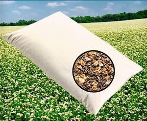 FOR YOUR HEALTHY SLEEP - YOUR NEW BUCKWHEAT HULLS PILLOW!