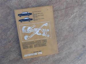 Mercedes-Benz 230 workshop manual