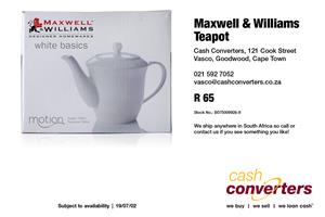 Maxwell & Williams Teapot