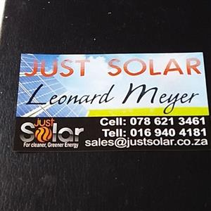 just solar for all your solar needs