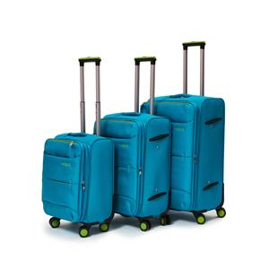 3 Piece Nylon Trolley Luggage Bag Set for sale  Midrand