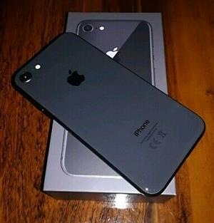 New iPhone 8 with box. 256gb