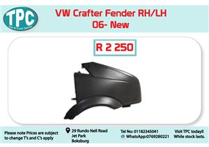 VW Crafter Fender 06- New for Sale at TPC