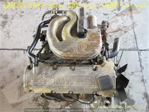 BMW 316i -164E2 1.6L EFI 8V ENGINE -E30 M43