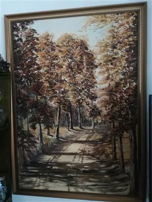 1 Large Original Art Landscape Painting