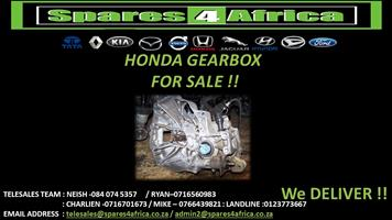 HONDA GEARBOX FOR SALE