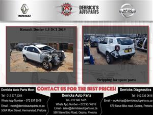 Renault Duster stripping For Used Spares