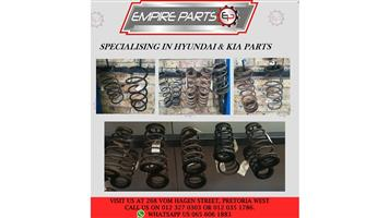 *COIL SPRINGS* - HYUNDAI and KIA
