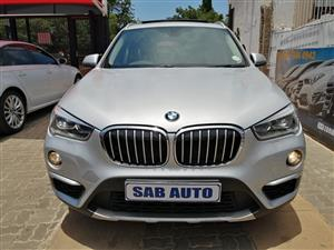 2017 BMW X1 sDRIVE18i A/T (F48)