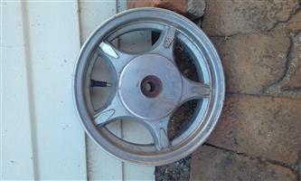 10 inch rear rim
