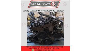 HY017 ELANTRA 1993 G4CR ENGINE
