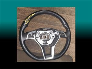 mercedes w204 steering wheel for sale