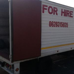 Furniture removal and truck for hire Phoenix verulam,umhlanga la lucia 0817152103